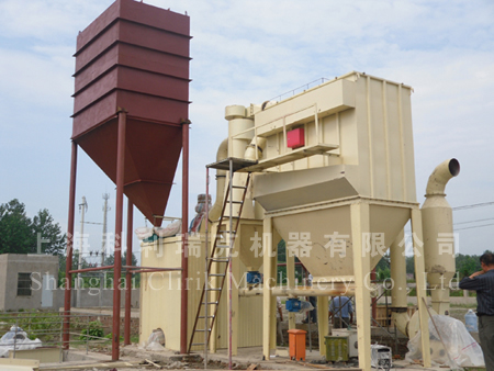 HGM80 stone grinding equipment
