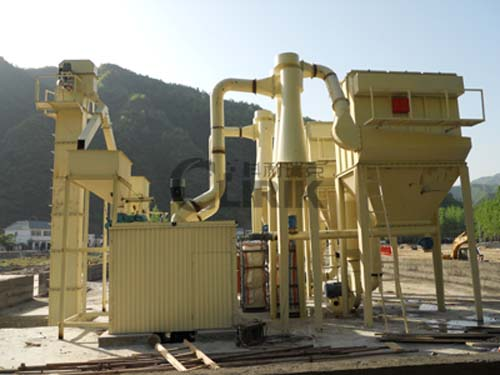 Gypsum grinding equipment