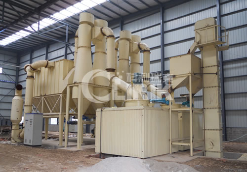 Cocoa powder grinding equipment