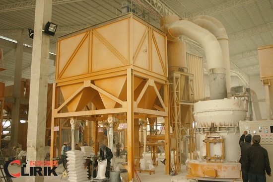 Dolomite powder processing plant