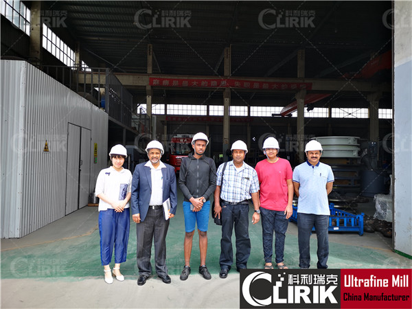 African customer visit CLIRIK factory