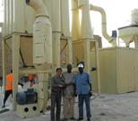 Diatomaceous earth grinding equipment