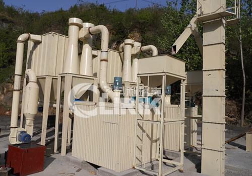 Bentonite grinding equipment; bentonite grinding machine