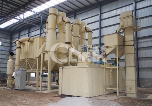 Cocoa powder grinding equipment