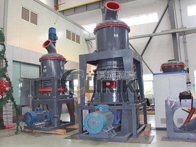 Water granulated slag grinding equipment